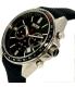 Hugo Boss Men's Driver 1513087 Black Leather Quartz Watch - Side Image Swatch