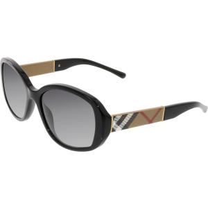 Burberry Women's Gradient  BE4159-34338G-57 Black Butterfly Sunglasses