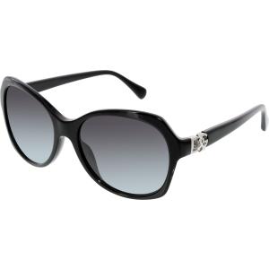 Dolce & Gabbana Women's Gradient  DG4163P-501/8G-57 Black Butterfly Sunglasses