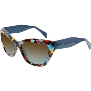 Prada Women's Gradient  PR02QS-NAG0A4-56 Tortoiseshell Butterfly Sunglasses