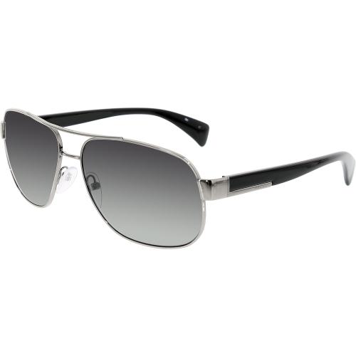 49160fd8f1 UPC 679420879468 product image for Prada Men s Gradient PR52PS-5AV5W1-61  Gunmetal Aviator Sunglasses ...