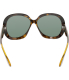 Ray-Ban Women's Jackie Ohh RB4098-710/71-60 Tortoiseshell Butterfly Sunglasses - Back Image Swatch