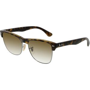 Ray-Ban Men's Gradient Clubmaster Oversized RB4175-878/51-57 Tortoiseshell Square Sunglasses