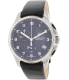 Victorinox Swiss Army Men's Officers 241552 Black Leather Swiss Chronograph Watch - Main Image Swatch