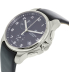 Victorinox Swiss Army Men's Officers 241552 Black Leather Swiss Chronograph Watch - Side Image Swatch