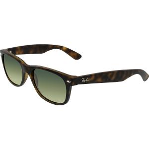 Ray-Ban Women's Gradient Wayfarer RB2132-894/76-55 Tortoiseshell Wayfarer Sunglasses