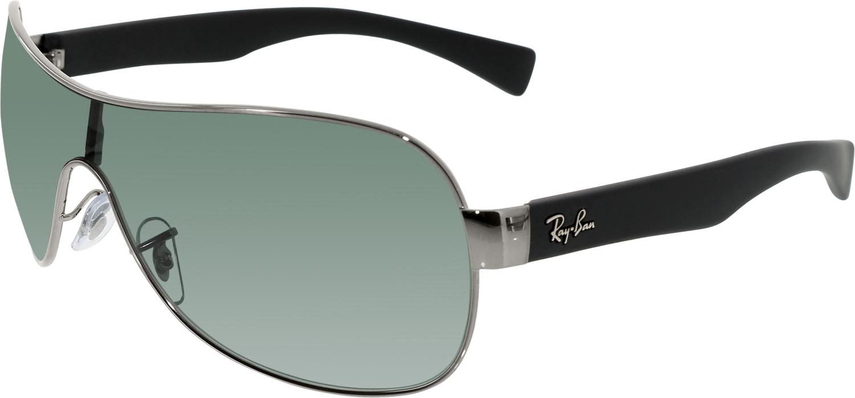 Men S Shield Sunglasses  ray ban men 039 s highstreet rb3471 004 71 32 gunmetal shield
