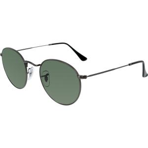 Ray-Ban Men's Icons RB3447-029-50 Gunmetal Round Sunglasses