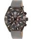 Nautica Men's Nst N18720G Grey Leather Analog Quartz Watch - Main Image Swatch