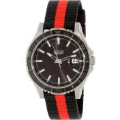 Guess Men's U0276G2 Black Nylon Quartz Watch
