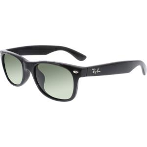 Ray-Ban Men's Wayfarer RB2132F-901-52 Black Wayfarer Sunglasses