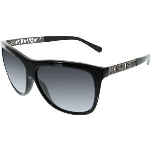 Michael Kors Women's Gradient Benidorm MK6010-300511-59 Black Square Sunglasses