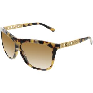 Michael Kors Women's Gradient Benidorm MK6010-301313-59 Tortoiseshell Square Sunglasses