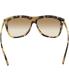 Michael Kors Women's Gradient Benidorm MK6010-301313-59 Tortoiseshell Square Sunglasses - Back Image Swatch