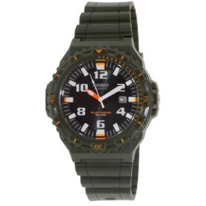 Casio Men's MRWS300H-3BV Green Rubber Quartz Watch