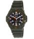 Casio Men's MRWS300H-3BV Green Rubber Quartz Watch - Main Image Swatch