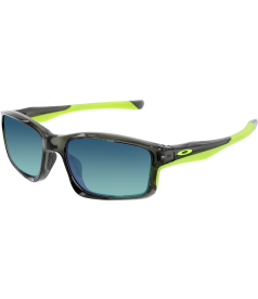 Oakley Men's Mirrored Chainlink OO9247-04 Green Rectangle Sunglasses