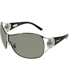 Chopard Women's  95209-0161 Silver Shield Sunglasses