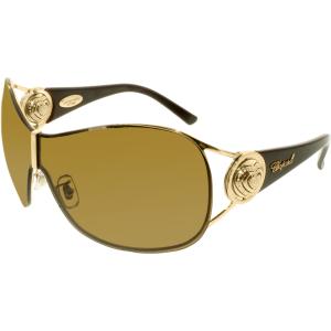 Chopard Women's  95209-0159 Gold Shield Sunglasses