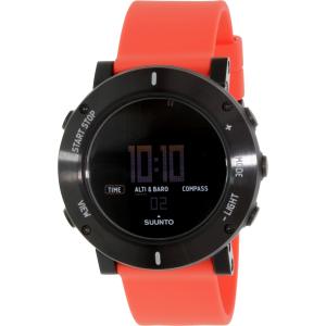Suunto Men's Core SS020692000 Orange Rubber Quartz Watch