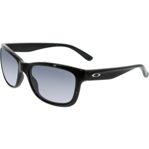 Oakley Women's Forehand OO9179-01 Black Square Sunglasses