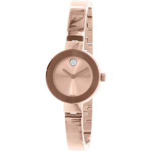 Movado Women's Bold 3600286 Rose Gold Stainless-Steel Swiss Quartz Watch
