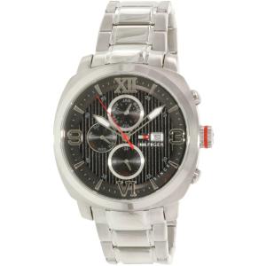 Tommy Hilfiger Men's 1790981 Silver Stainless-Steel Quartz Watch