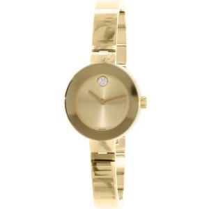 Movado Women's Bold 3600285 Gold Stainless-Steel Swiss Quartz Watch