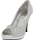 Rampage Women's Gracee Ankle-High Synthetic Pump - Main Image Swatch
