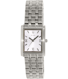 Bulova Women's Corporate 96L006 Silver Stainless-Steel Quartz Watch