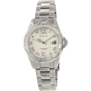 Invicta Women's Pro Diver 14790 Silver Stainless-Steel Swiss Quartz Watch