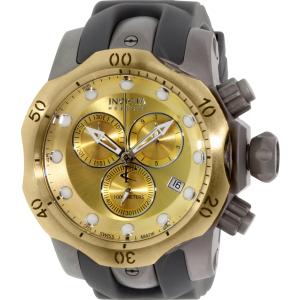 Invicta Men's Venom 16986 Grey Rubber Swiss Chronograph Watch