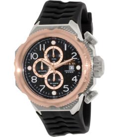 Invicta Men's I Force 17171 Black Rubber Swiss Chronograph Watch