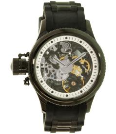 Invicta Men's Russian Diver 1846 Black Rubber Automatic Watch