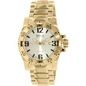 Invicta Men's Reserve 6249 Gold Stainless-Steel Swiss Quartz Watch