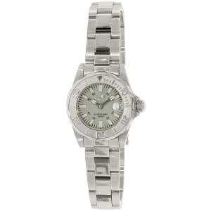 Invicta Women's Lady Diver 7066 Silver Stainless-Steel Swiss Quartz Watch