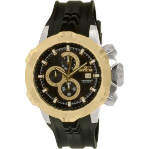 Invicta Men's I Force 16901 Black Rubber Swiss Chronograph Watch
