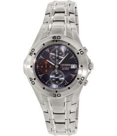 Citizen Men's AN3340-58L Silver Stainless-Steel Quartz Watch