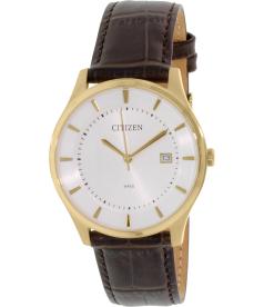 Citizen Men's BD0042-01A Brown Leather Quartz Watch