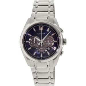 Citizen Men's Eco-Drive CA4011-55L Silver Titanium Eco-Drive Watch
