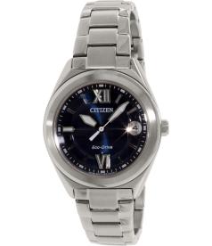 Citizen Women's FE6000-53L Silver Stainless-Steel Eco-Drive Watch