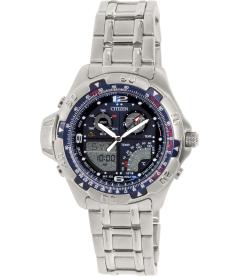 Citizen Men's Promaster JS2051-50L Silver Stainless-Steel Quartz Watch
