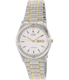 Citizen Men's BF0500-64A Silver Stainless-Steel Quartz Watch