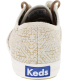 Keds Women's Champion Tribal Metallic Ankle-High Canvas Fashion Sneaker - Back Image Swatch