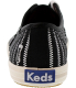 Keds Women's Champion Zip Zipper Ankle-High Canvas Fashion Sneaker - Back Image Swatch
