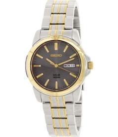 Seiko Men's SNE098 Silver Stainless-Steel Quartz Watch