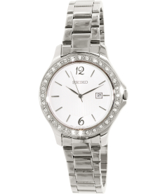 Seiko Women's SXDF97 Silver Stainless-Steel Quartz Watch