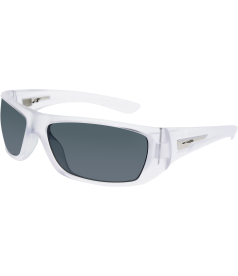 Arnette Men's Polarized Stick Up AN4147-223/81-63 Clear Rectangle Sunglasses