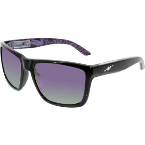 Arnette Men's Witch Doctor AN4177-22284V-59 Black Square Sunglasses