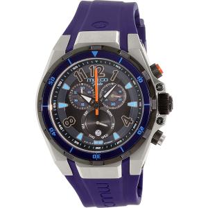 Mulco Men's Fondo MW1-81197-044 Purple Rubber Swiss Chronograph Watch